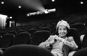 Beki Probst im Kino CLUB. © Beat Mathys