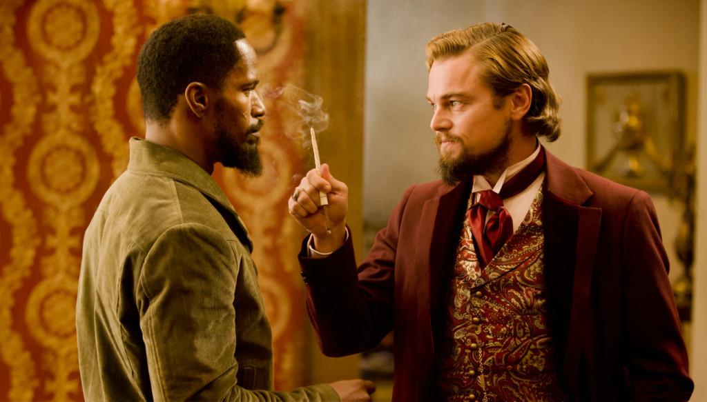 Django trifft auf seinen Widersacher, Calvin Candie (Di Caprio) ⓒ Studio / Produzent